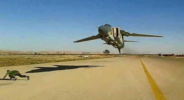 מיג 23 בטיסה נמוכה להחריד, צילום: flying-tigers
