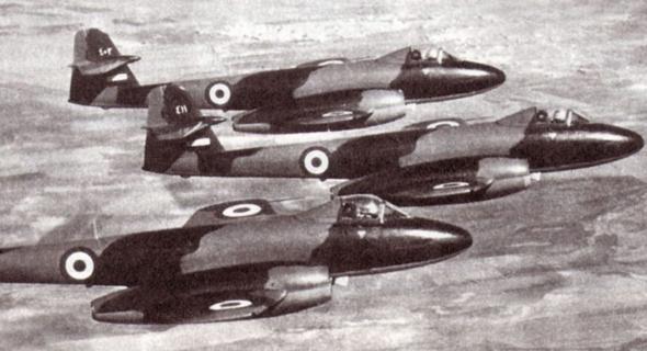 מטוסי מטאור מצריים, צילום: flying-tigers
