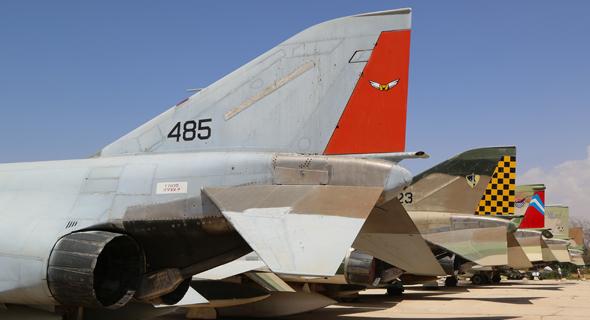פאנטומים ישראליים במוזיאון חיל האוויר