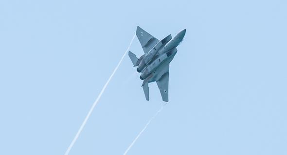 F15 ישראלי במפגן טיסה