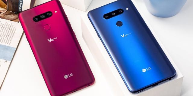חמש מצלמות ומסך ענק: LG חשפה את פאבלט ה-V40