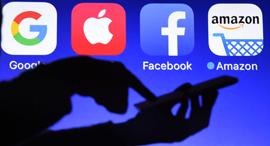 אמזון פייסבוק אפל וגוגל , צילום: גטי