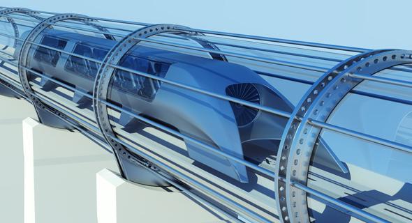 עיצוב קונספט לרכבת הייפרלופ