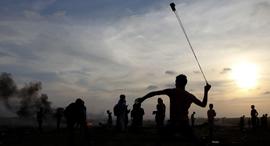 מהומות  גבול עזה, צילום: איי אף פי