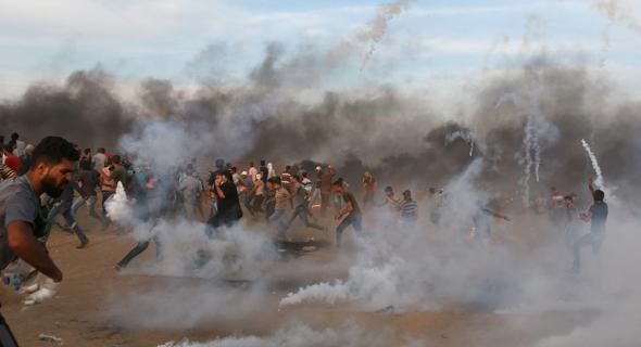 מהומות בגבול עזה