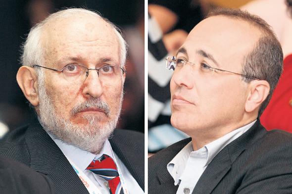 מימין: משה ברקת ומריו בלכר, צילומים: עמית שעל, אוראל כהן