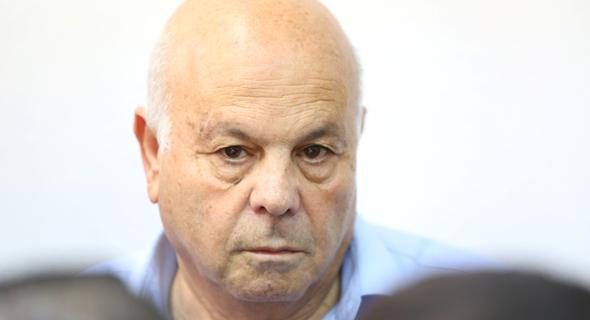 עזרא סיידוף בבית המשפט , צילום: עמית שאבי