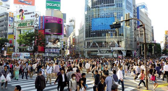 טוקיו. ערים עם אוכלוסייה משכילה מושפעות פחות מעלייה בריבית