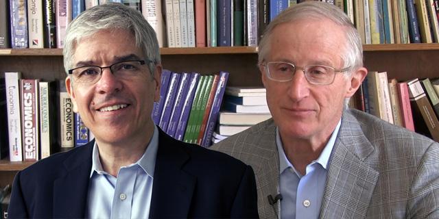 הזוכים בפרס נובל בכלכלה: ויליאם נורדהאוס העוסק באקלים ופול רומר בצמיחה