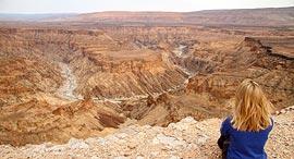 פוטו פלאי טבע לא מוכרים נמיביה Fish River Canyon, צילום: שאטרסטוק