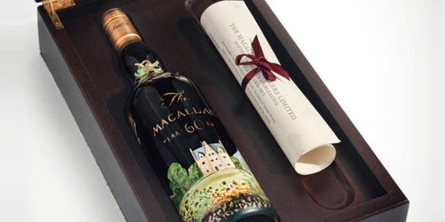 למכירה: בקבוק וויסקי בן 60 שנה - ביותר ממיליון פאונד