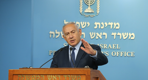 Benjamin Netanyahu. Photo: Amit Shabi