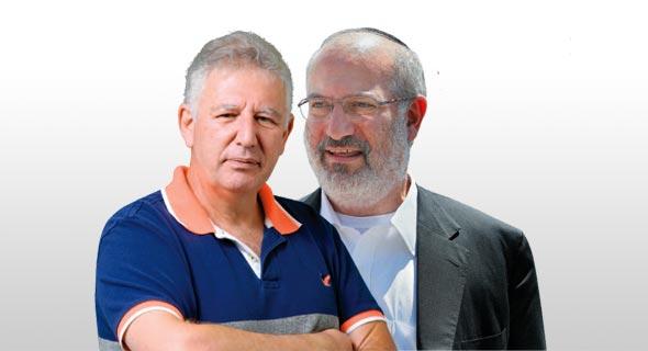 """השליטה בדסק""""ש אדוארדו אלשטיין מנכ""""ל משותף גילעד אלטשולר, צילומים: אוראל כהן, עמית שעל"""