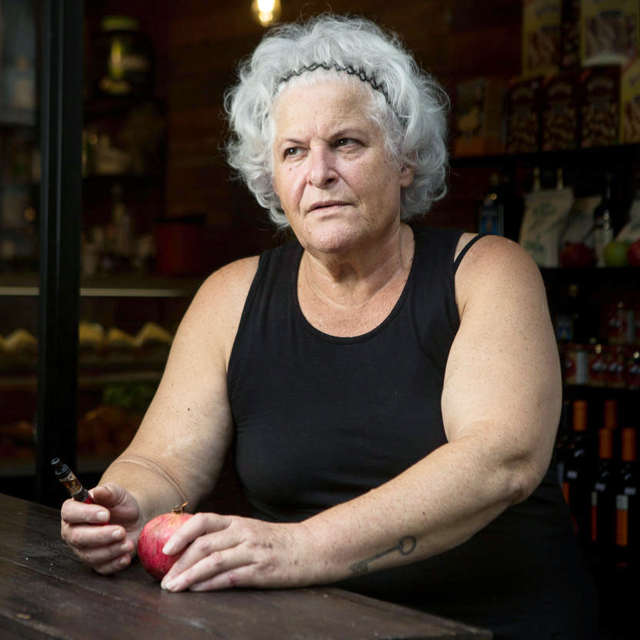 מוסף שבועי 11.10.18 השפית דיטה בורנשטיין מסעדנית, צילום: תומי הרפז