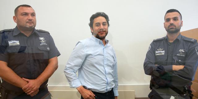 בכיר משרד התחבורה דרור גנון בבית המשפט, צילום: אוראל כהן