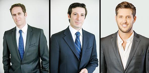 Sweetwood Capital מימין: עמית קורץ, סמואל כהן סולל, מנואל זיסהולץ