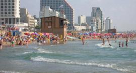חוף פרישמן תל אביב ים, צילום: cc by EdoM