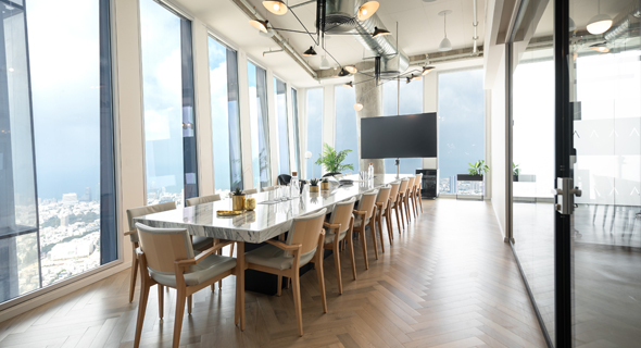LABS TLV offices at the Azrieli Sarona tower. Photo: LABS TLV