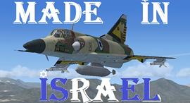נשר מטוס קרב מיראז' הקברניט, צילום: mirage4fs