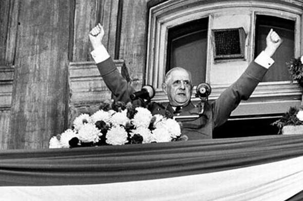 נשיא צרפת דאז, שארל דה-גול