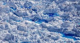 פוטו התחממות גלובלית גרינלנד מים נמסים, צילום: Lucas Jackson / Reuters