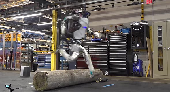 הרובוט אטלס בפעולה, צילום: Youtube