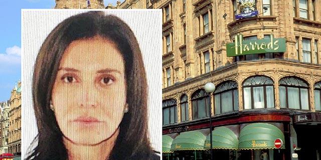 אשת הבנקאי שבזבזה 16 מיליון פאונד בכלבו הרודס - עומדת בפני גירוש מבריטניה
