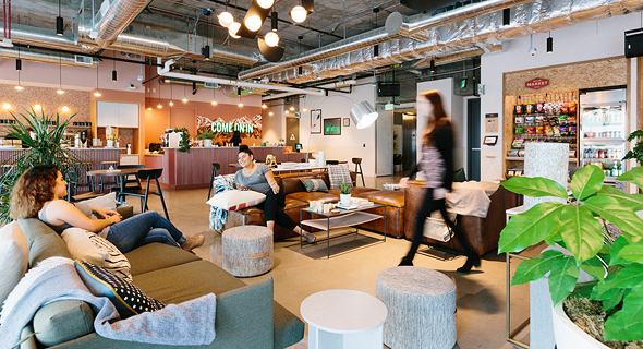 WeWork coworking space. Photo: Shutterstock