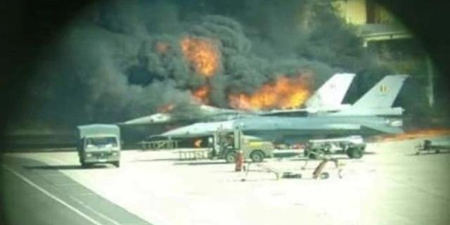 מכונאי ירה בטעות ממטוס - והשמיד F-16