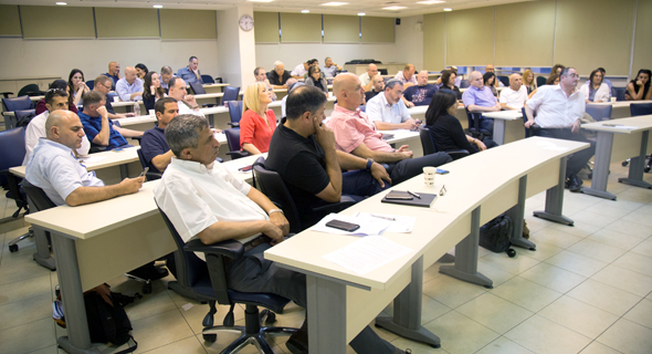 """מפגש במסגרת קורס ניהול עסקי בנדל""""ן, צילום: עומר לוי"""