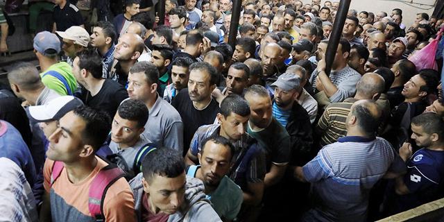 טיפה בים: הממשלה תגדיל ב-500 את מכסת העובדים הפלסטינים בתעשייה