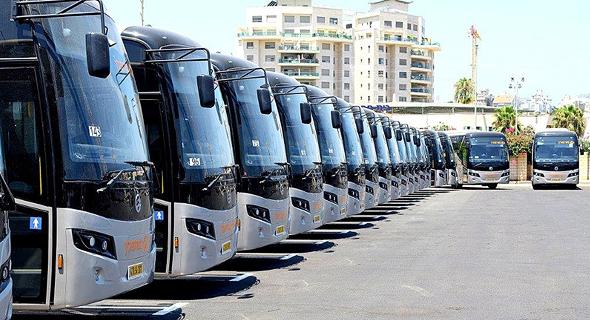אוטובוסים מונעי גז דחוס של מטרופולין