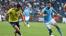 נבחרת ישראל נגד סקוטלנד, צילום: ראובן שוורץ