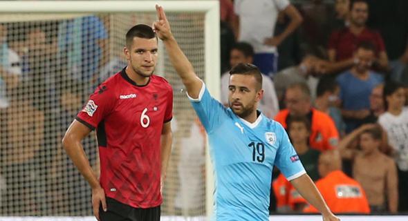 נבחרת ישראל נגד נבחרת אלבניה, אמש בבאר שבע