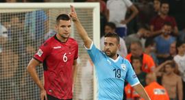 סבע נגד אלבניה. שער אדיר, צילום: אורן אהרוני