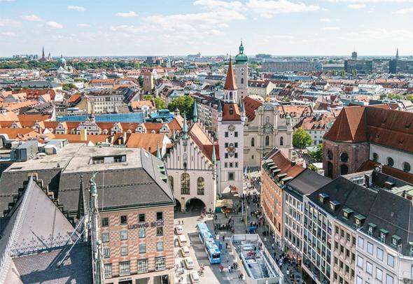 """מינכן. מקום שמיני במדד צמיחת הנדל""""ן העולמי"""