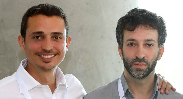 Kindite co-founders Maor Cohen (left) and Aviad Lahav