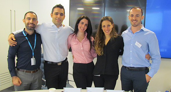 המנטורים שלAccenture  (מימין לשמאל): אלעד טפיארו - אנליסט טכנולוגי, טליה וינדיצ