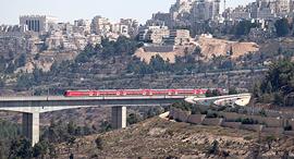 נסיעת בכורה של רכבת מהירה מ ירושלים ל תל אביב, צילום:  עמית שאבי