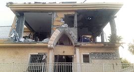 הבית בבאר שבע שנפגע מרקטה