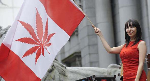 החל מהיום - מריחואנה חוקית בקנדה
