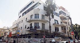 """בניין ב רחוב שנקין שעבר תמ""""א 38 תל אביב, צילום: אוראל כהן"""