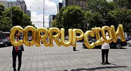 הפגנה נגד שחיתות במקסיקו, צילום: רויטרס