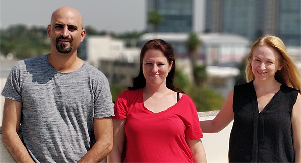 Ladingo co-founders Guy Levy, Ruth Reiner, and Hagar Valiano (right). Photo: PR