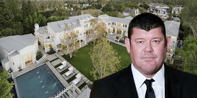 ג'יימס פאקר קנה אחוזה לוס אנג'לס, צילום: JOE BRYANT