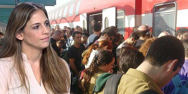 """מנכ""""לית משרד התחבורה: """"לא חזינו כמו שצריך את הגידול במספר נוסעי הרכבת"""""""