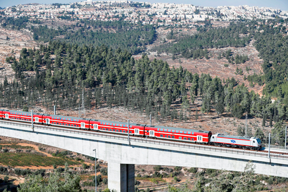 The Jerusalem express train. Photo: AFP