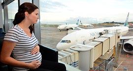 טיסה מטוס הריון, צילום: שאטרסטוק