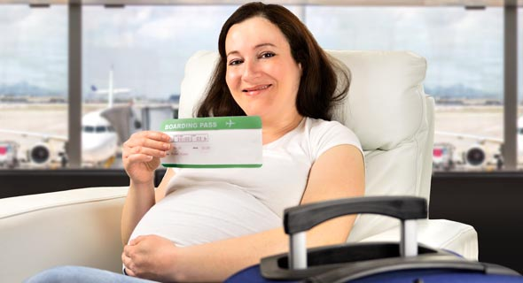 טיסה בהריון? לא בכל חברה, צילום: שאטרסטוק
