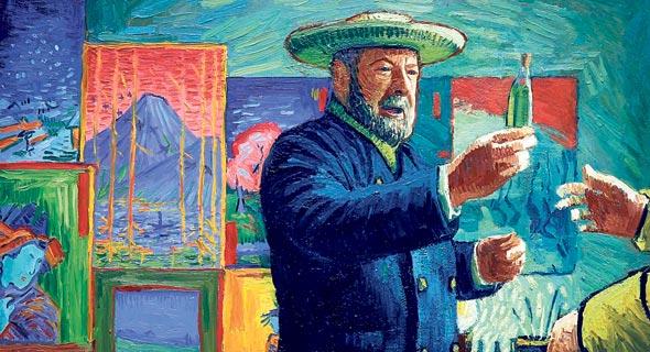 מתוך הסרט. נעשה בידי 125 ציירים מכל העולם